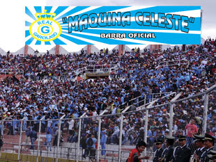 NUESTRA HINCHADA LA 12 CELESTE