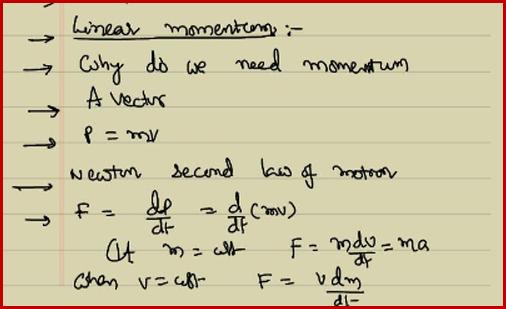 Newton Law of Inertia ...