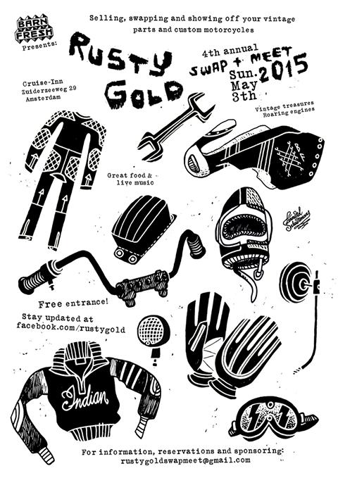 Rusty Gold Swap Meet 2015