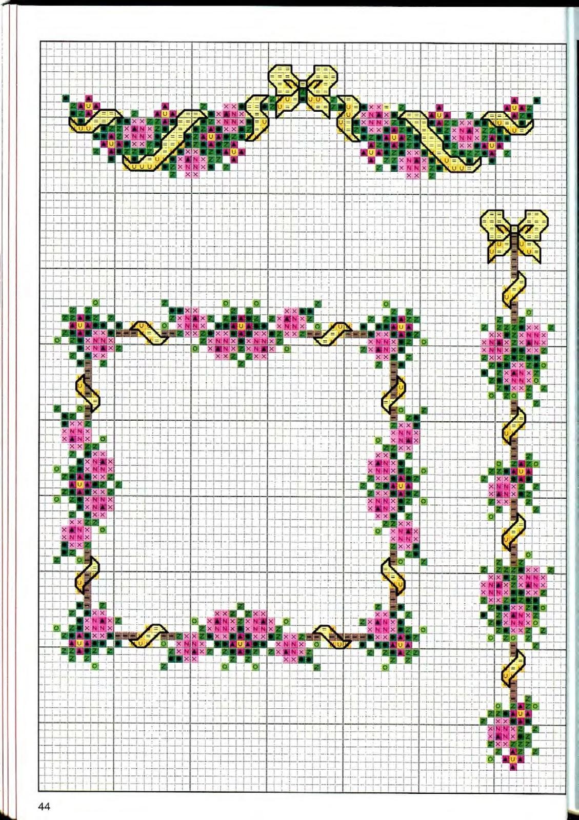 На этой странице представлены схемы вышивки с тегом «рамка» 33