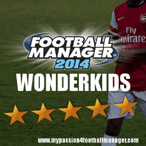 Football Manager 2014 Wonderkids and emerging talents