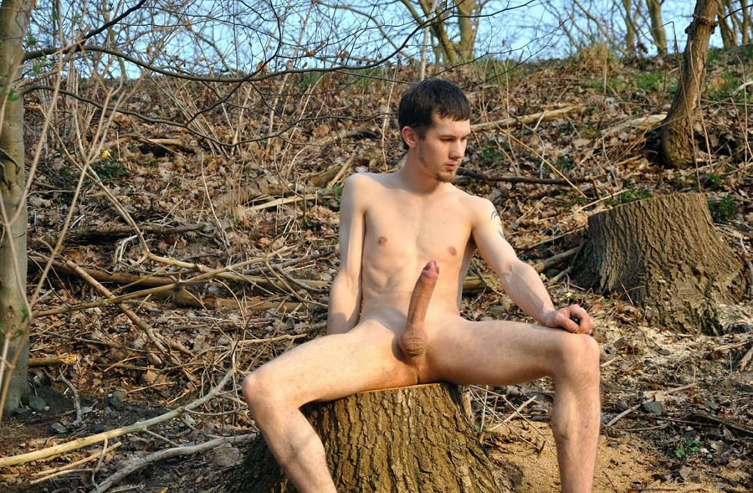 Naked Men Outdoors Pictures, Images and Stock