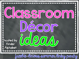 Creative Lesson Cafe: Classroom Decor Ideas
