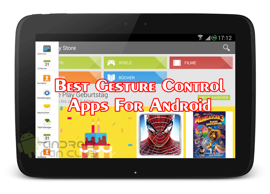 Best Gesture Control Apps For Android Smart Phones & Tablets