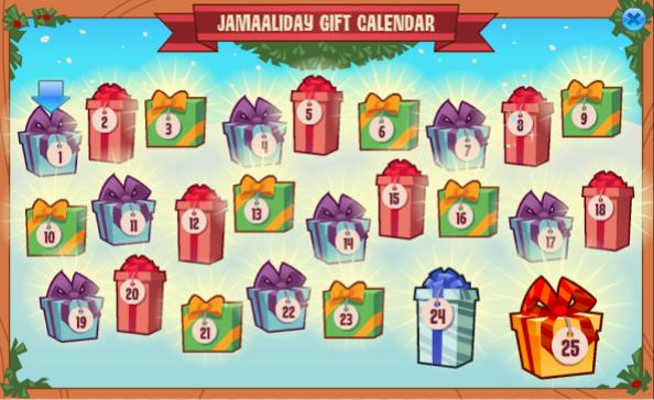 Animal Jam Christmas Gifts year here on Animal Jam