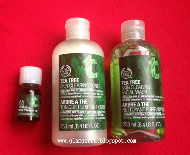 how to add tea tree oil to body wash
