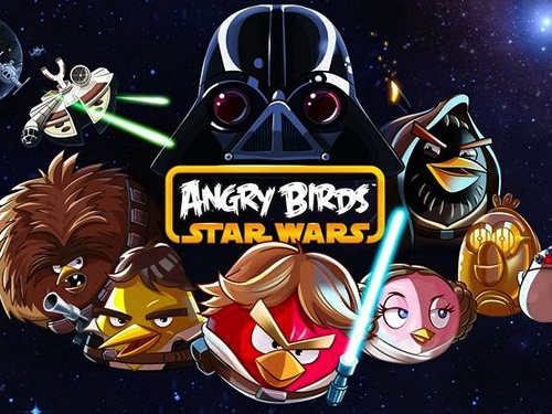 Star Wars Angry Birds game app