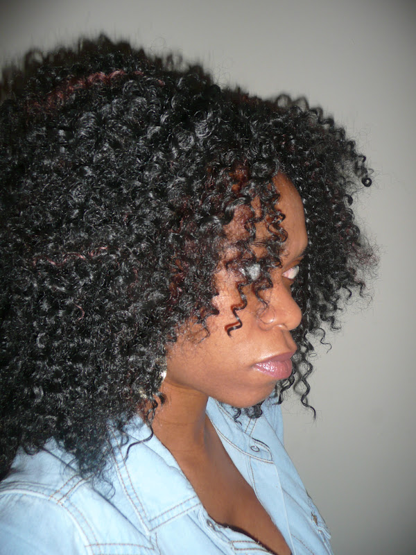 ... crochet braids this time using water wave bulk hair instead of the