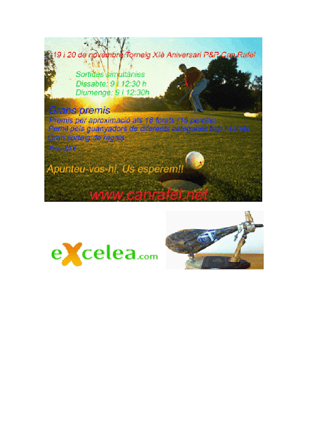 Pitch and Putt Can Rafel Torneig XI Aniversari