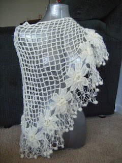 Best Patterns: Bridal Mohair Shawl/Scarf Winter or Summer ...