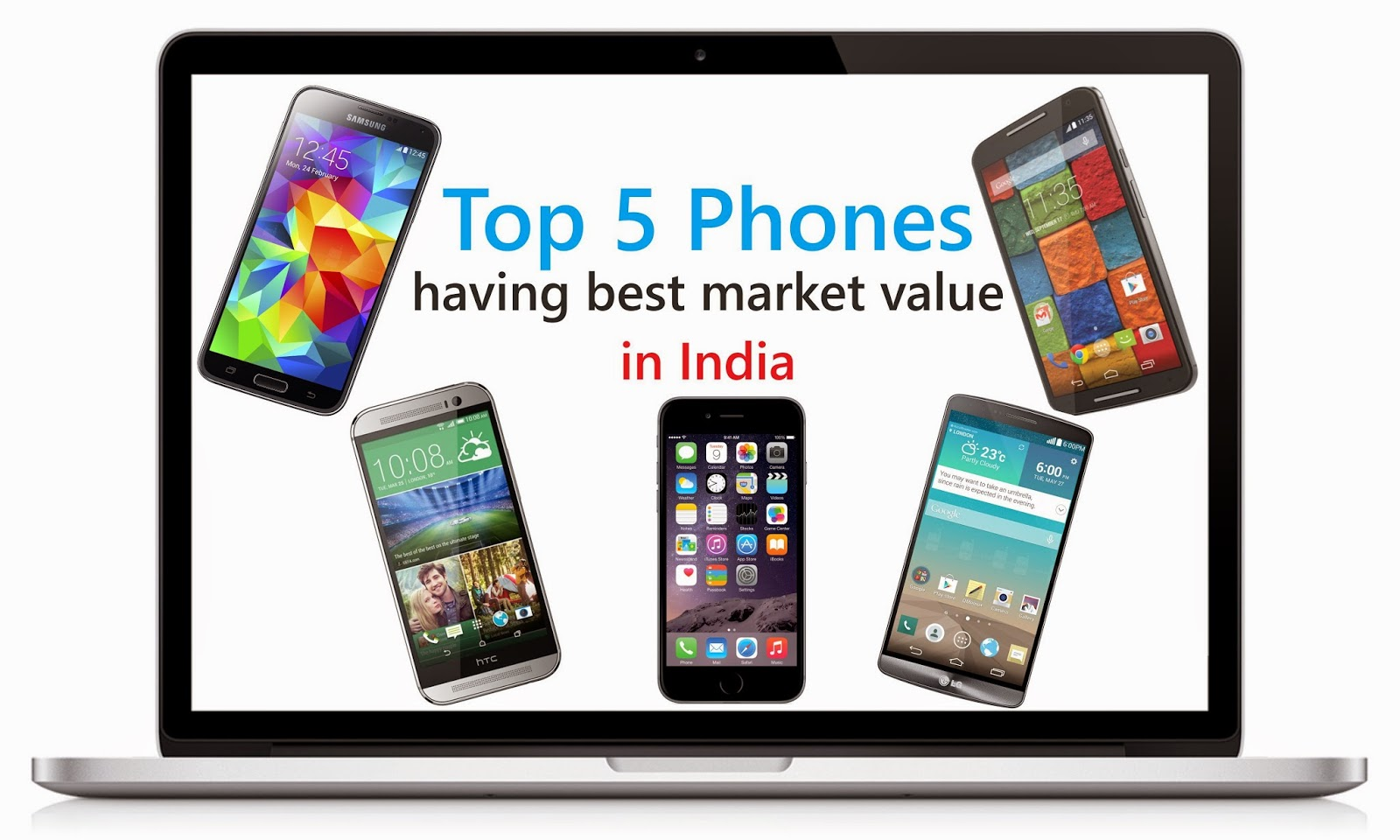 Top 5 Phones Having The Best Market Value in India