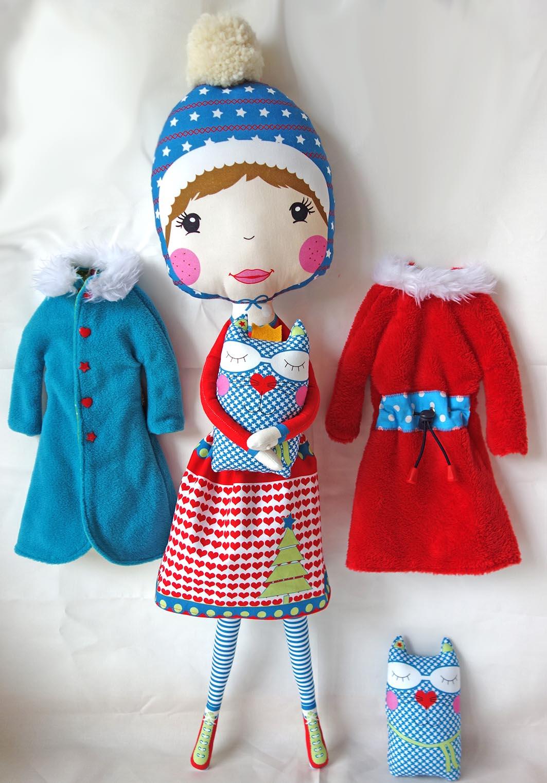 Mantel für Fräulein Langbein