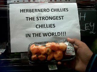 Habanero Chili, Cabe Paling Pedas di Dunia