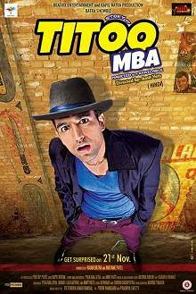 Titoo MBA (2014) Hindi Movie Poster