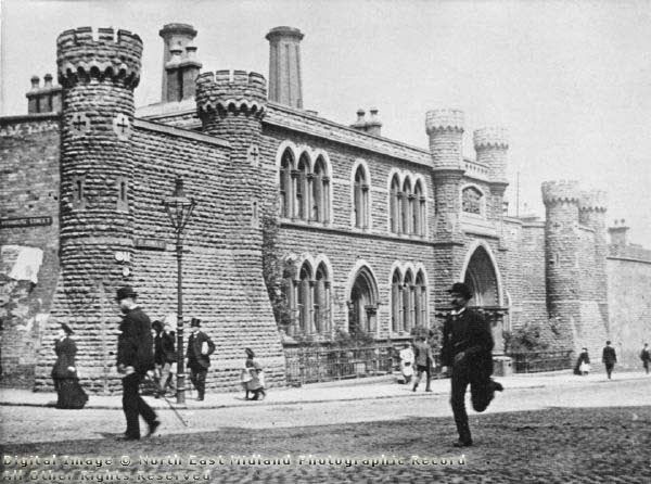 Nottingham House of Correction, c1895