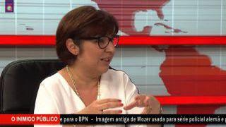 Programa Inferno no Canal Q entrevista a Jornalista Maria João Martins