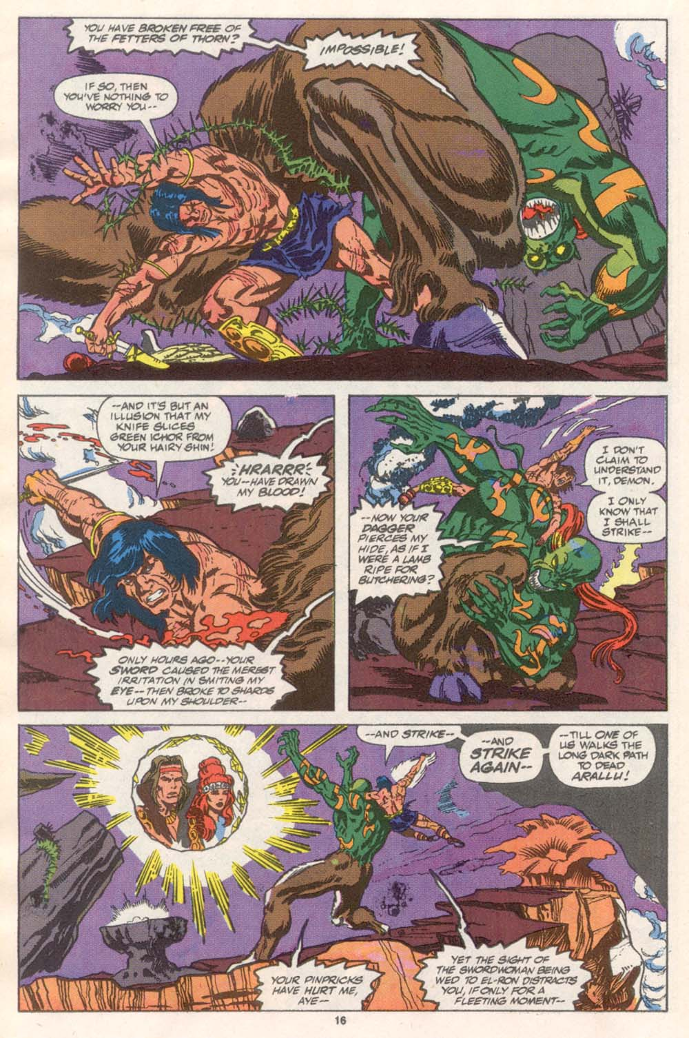 Conan the Barbarian (1970) Issue #243 #255 - English 13