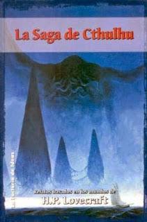 La saga de Cthulhu portada novela hp lovecraft fotogramailustrado ktulu chulu mar sea tiniebla tempest