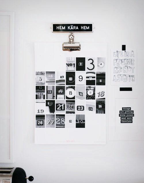 Calendar Ideas Y : Arte y arquitectura originales calendarios de pared