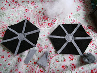 Felt Tie Fighter