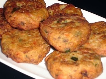 Traditional Greek Eggplant Fritters - Melitzanokeftedes - Recipe