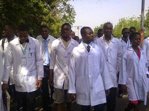 AT  LAST: FG recalls 16,000 resident doctors