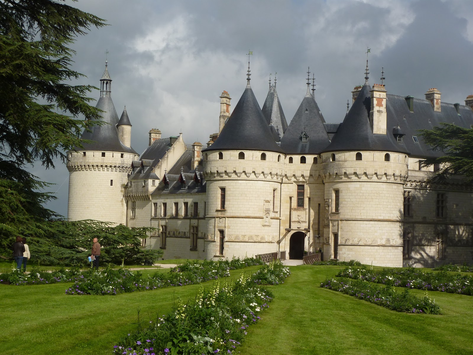 sulle strade del mondo il travel blog di simonetta clucher chaumont sur loire il castello. Black Bedroom Furniture Sets. Home Design Ideas