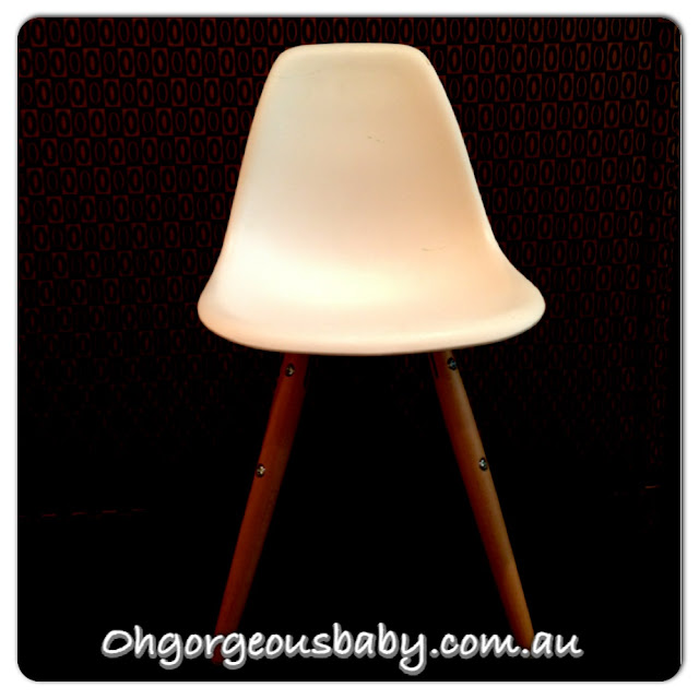 eames, designer chair, childrens furniture, funky, Target Australia, Bloggers, Oh Gorgeous Baby