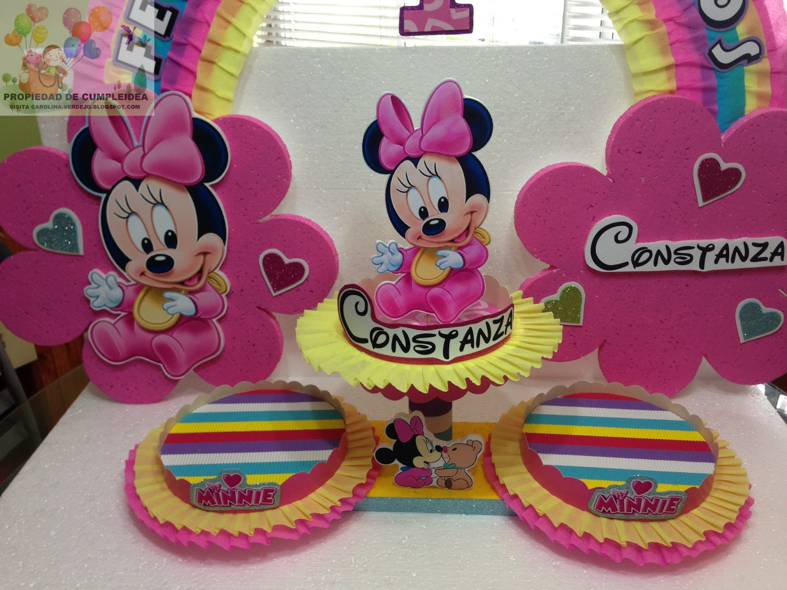 DECORACIONES INFANTILES: minnie bebe