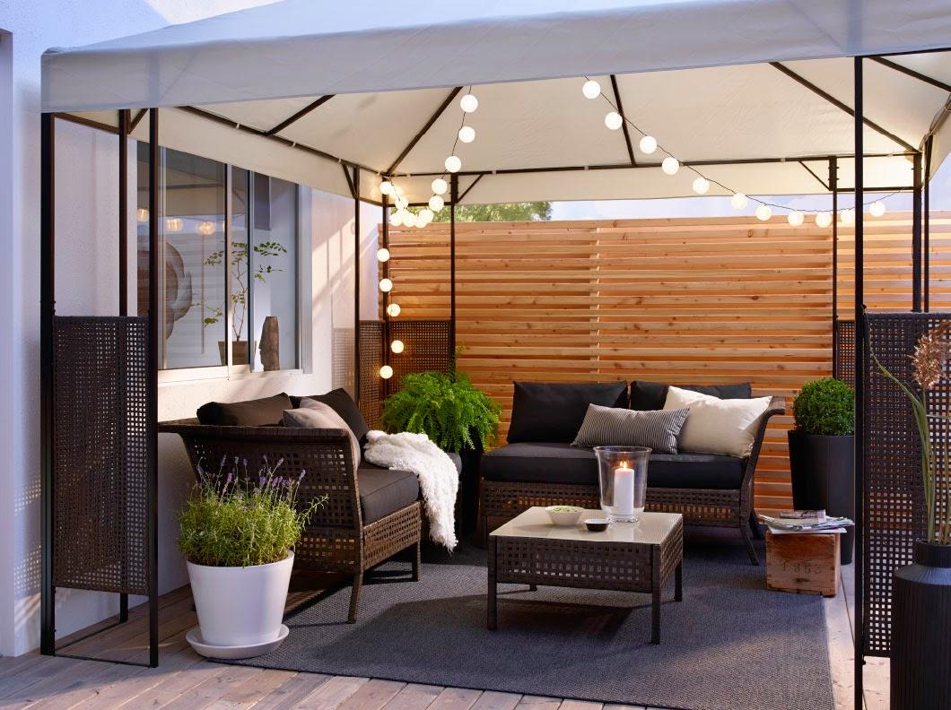 Meble Ogrodowe Ikea Applaro Opinie : Prosty i idealnie wpisujący się w ciepłe letnie wieczory