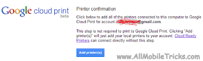 amar hacker Add printer for cloud printing