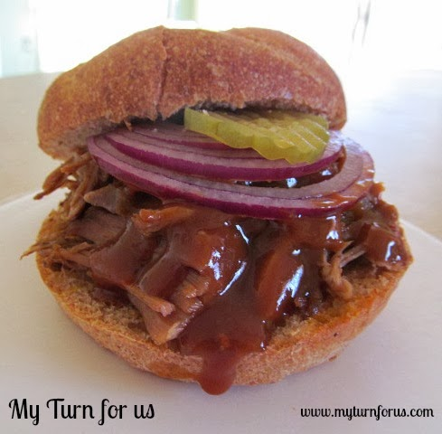 Slow Cooked BBQ Pulled Pork http://www.myturnforus.com/2014/03/slow ...