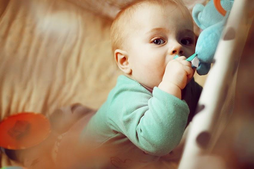 dziecko ząbkuje