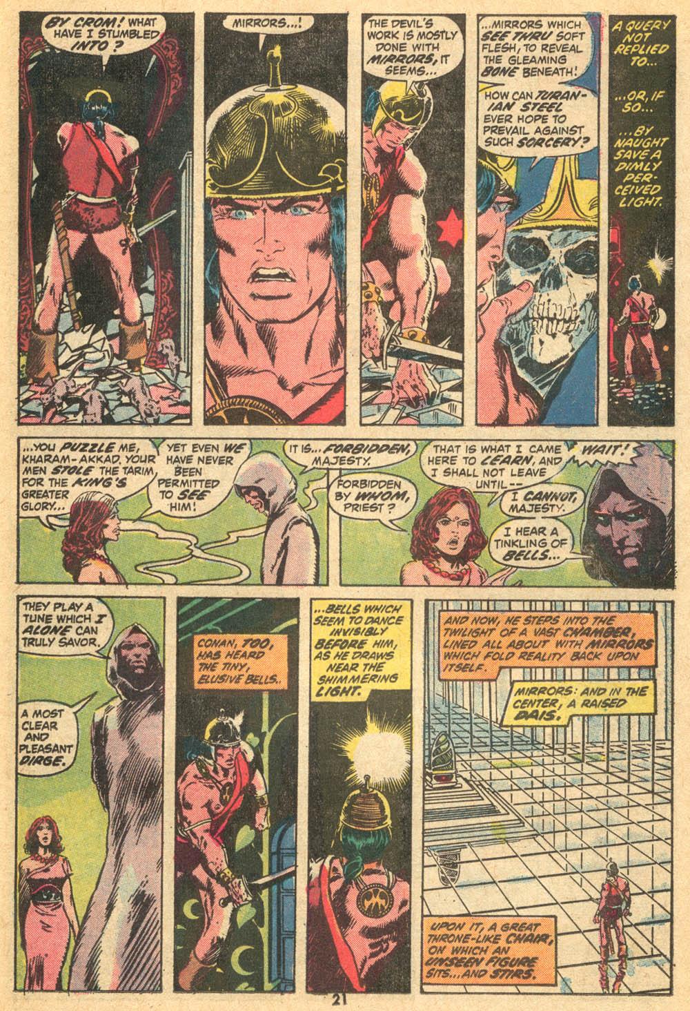 Conan the Barbarian (1970) Issue #20 #32 - English 14