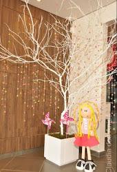 árvore de guloseimas