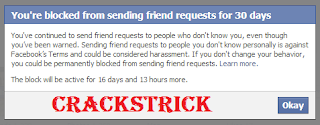 How To Send Friend Request  In Facebeook When blocked?