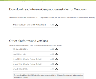 download genymotion for windows