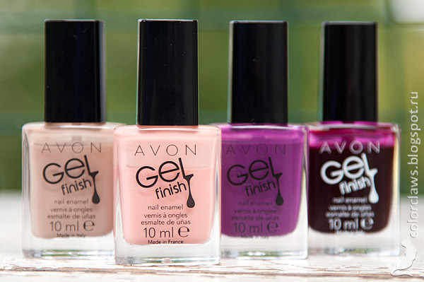Avon Gel Finish Dazzle Pink