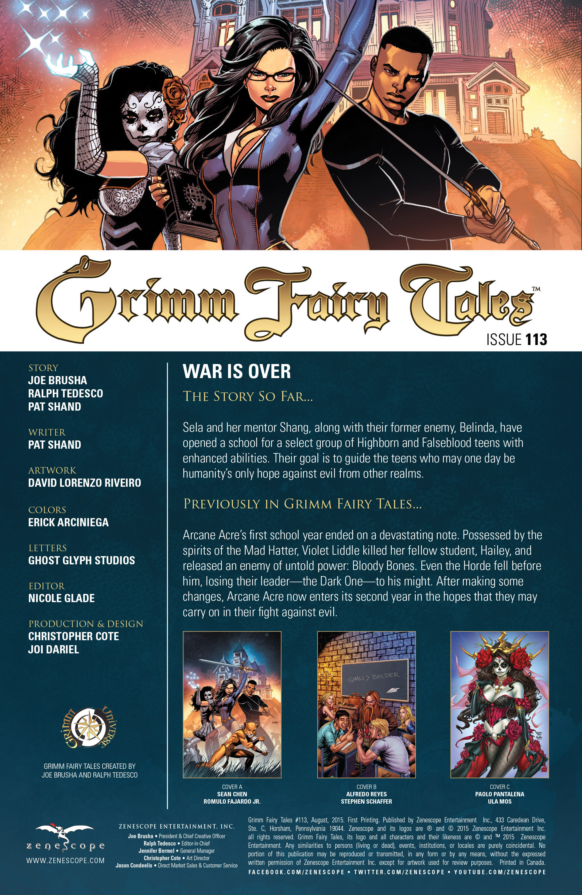 Grimm Fairy Tales (2005) Issue #113 #116 - English 2