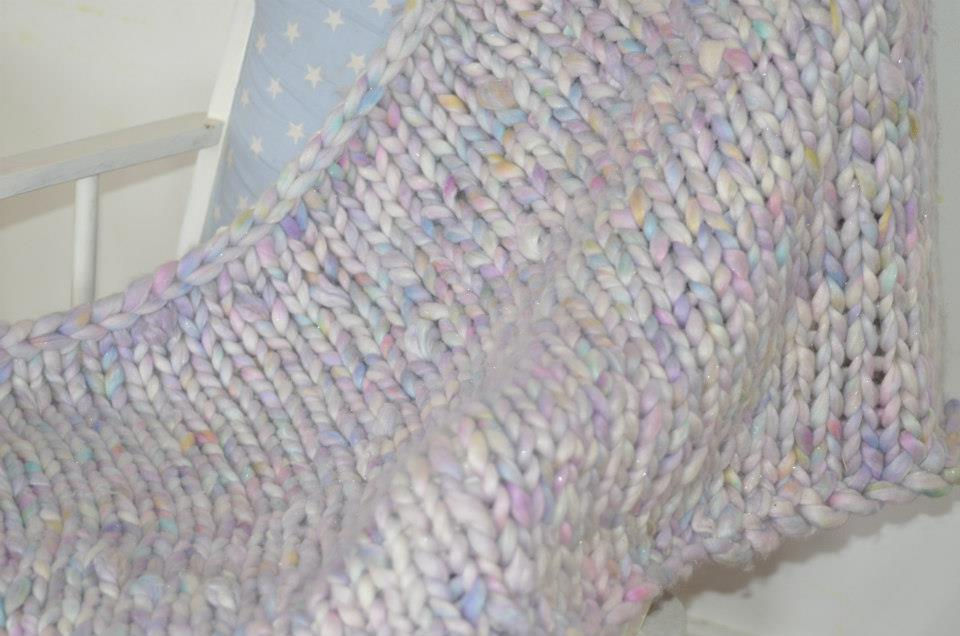 Knitting Pattern For Unicorn Blanket : Unicorn blanket from A Stash Addict Purl up and dye