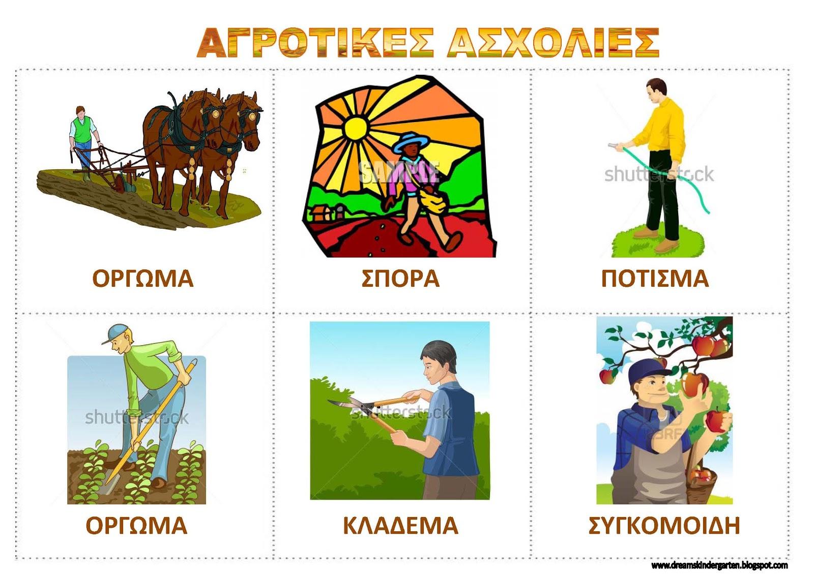 Πίνακες αναφοράς για τη γεωργία και
