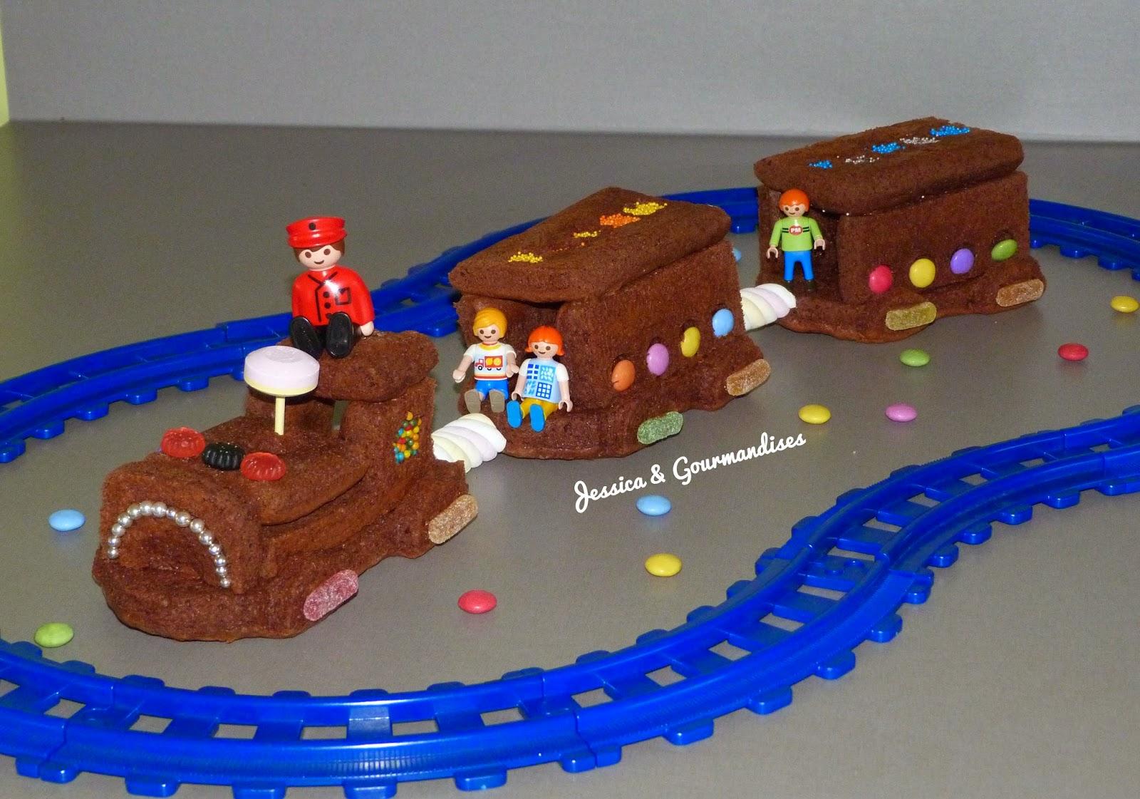 Souvent Jessica & Gourmandises: Gâteau train 3D GS01