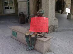 """indignación laboral a """"Las Mercedes"""" e o alcalde"""