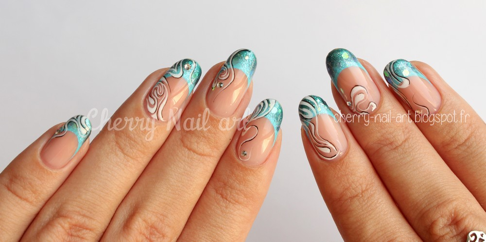 deco nail art peinture acrylique