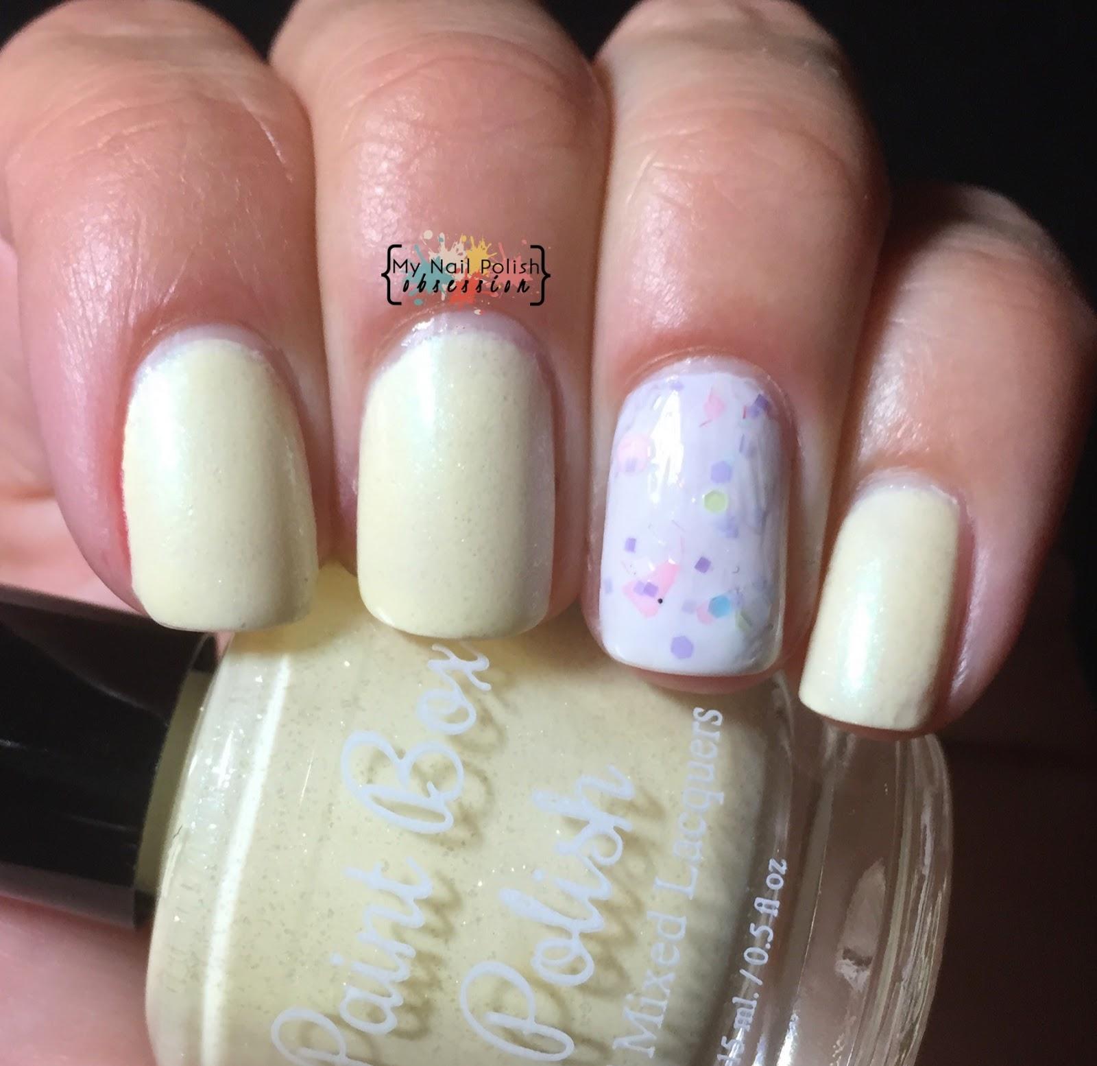 Paint Box Polish Marshmallow Peeps