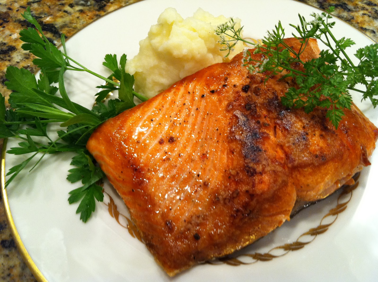 Cooking With Chez Cindy Chezcindy Copper River Salmon