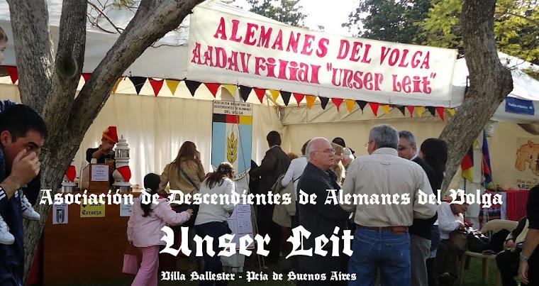 Asociación de Descendientes de Alemanes del Volga - Unser Leit