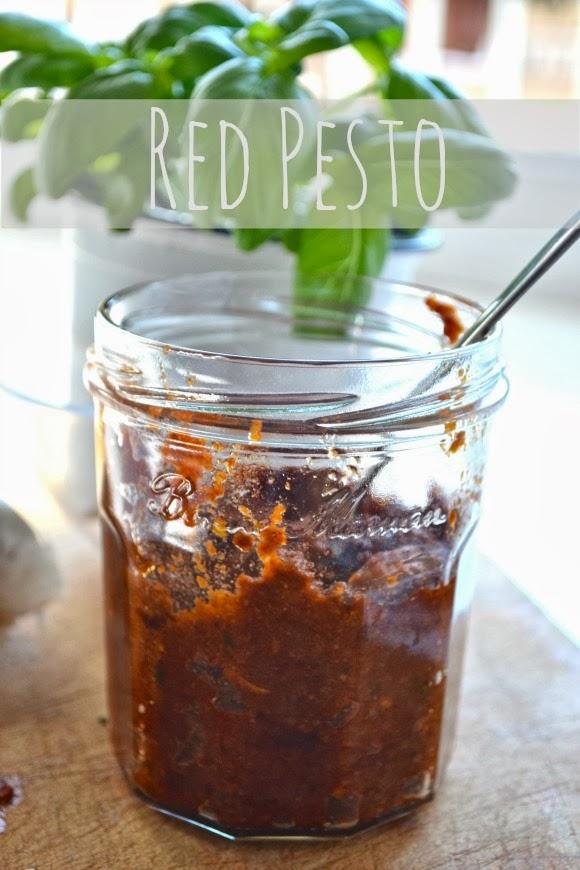 how to make red pesto uk