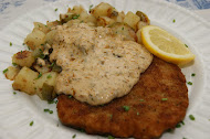 Rahmschnitzel with German Potatoes