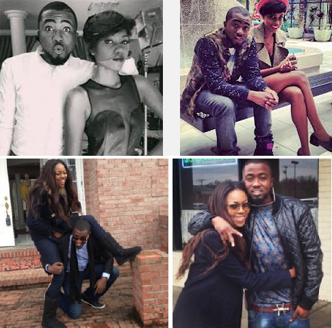 Ice Prince dating Yvonne Nelson.